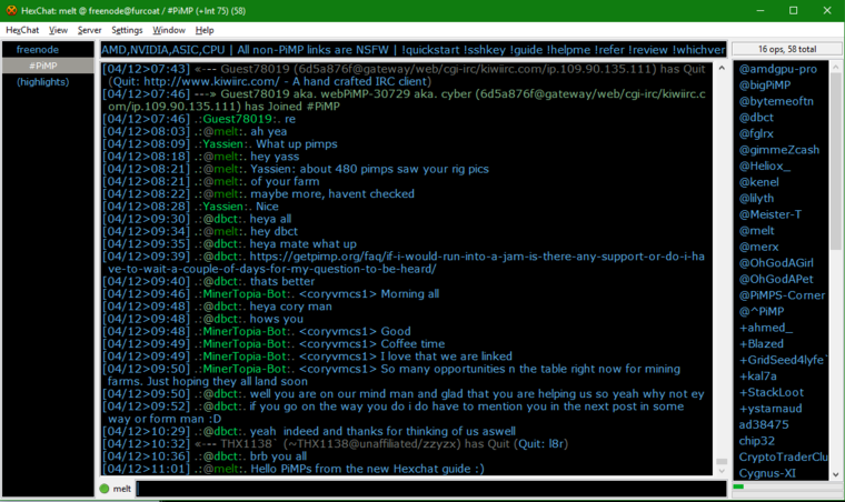 How to install Hexchat, a great free IRC client for Windows