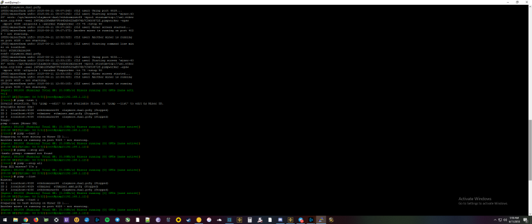 amd Rig is crashing after running claymore dual for a long